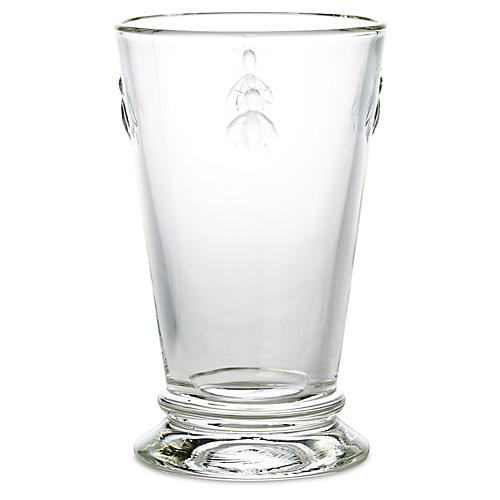 S/6 Bee Iced-Tea Glasses