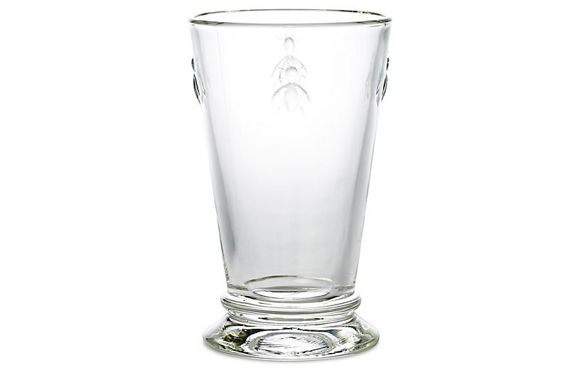 S/6 Bee Iced-Tea Glasses