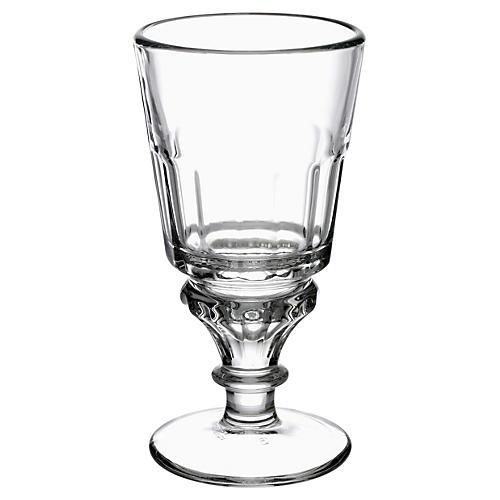 S/6 Bistrot Absinth Glasses