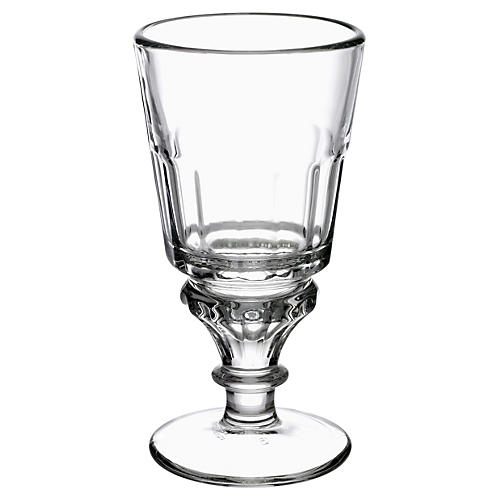 S/6 Bistrot Absinth Glasses