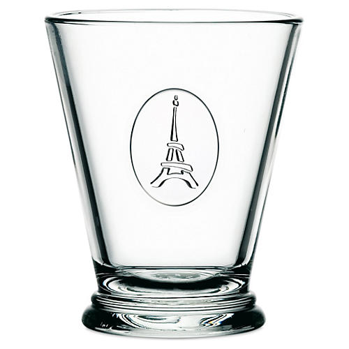 S/6 Icon Tumblers Eiffel Tower