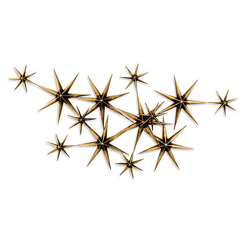 C. Jeré Evening Stars, Brass/Steel