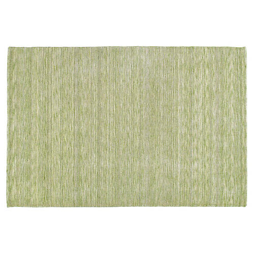 Arty Kids' Rug, Green
