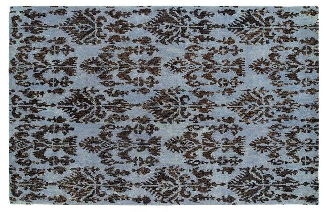 Tempe Rug, Blue/Brown