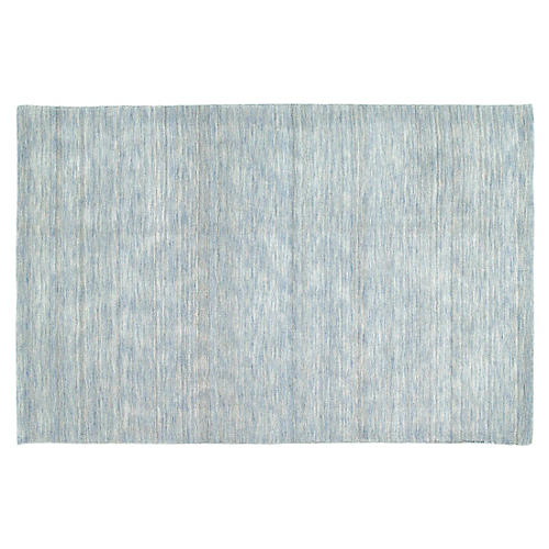 Arty Kids' Rug, Sky Blue