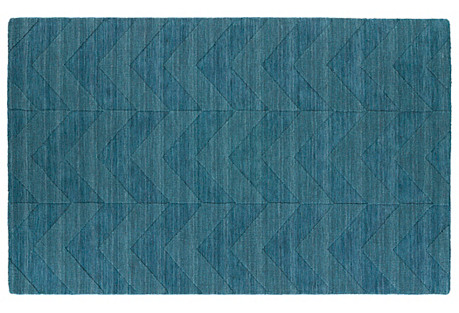 Alberta Rug, Turquoise