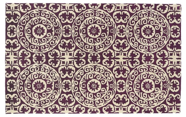 Capri Rug, Purple