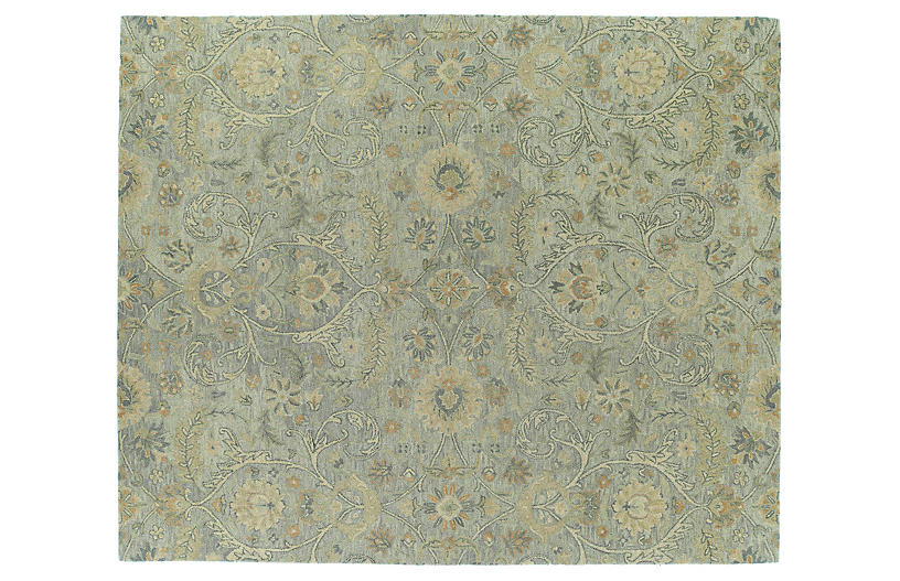 Teali Rug - Green/Gray - 8'x10'