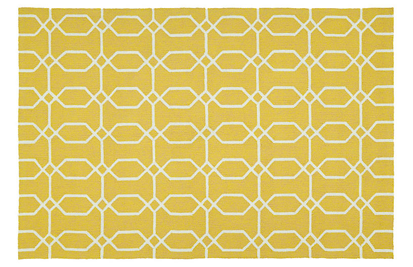 Irvyn Outdoor Rug - Gold