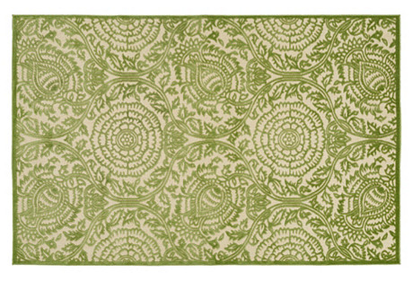 Boone Outdoor Rug, Green