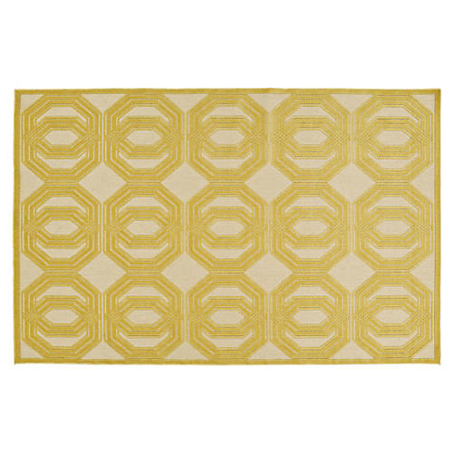 Brice Outdoor Rug, Gold