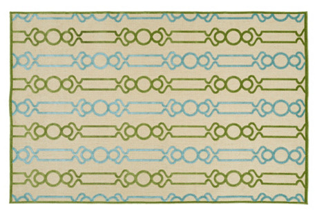 Cherie Outdoor Rug, Green