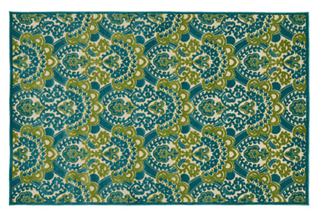 Sebastian Outdoor Rug, Blue