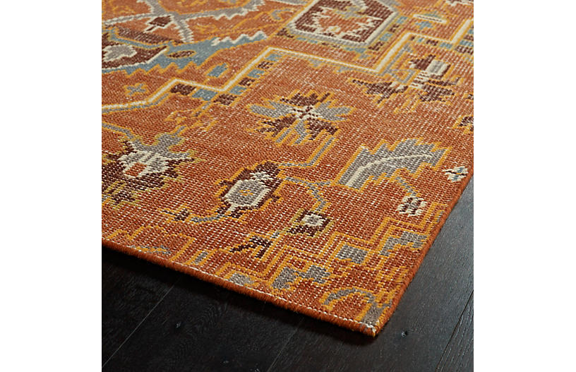 Halima Rug Paprika Traditional Rugs By Style Rugs