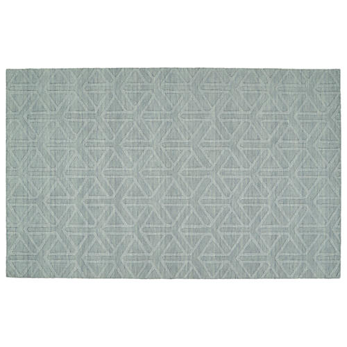 Arth Rug, Light Blue