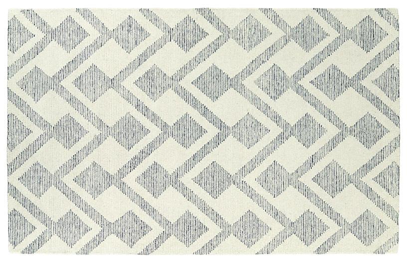 Walland Rug, Ivory/Linen