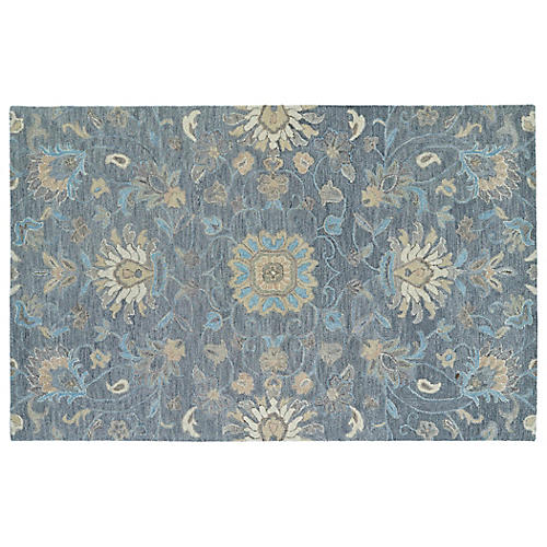Fenty Rug, Blue/Multi
