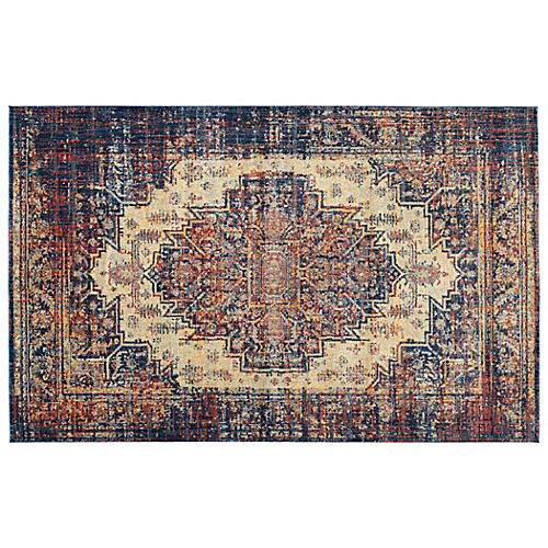 Urias Rug, Red/Multi