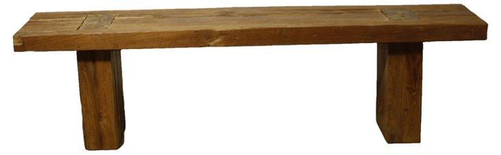 """Fillipo 48"""" Bench, Natural"""