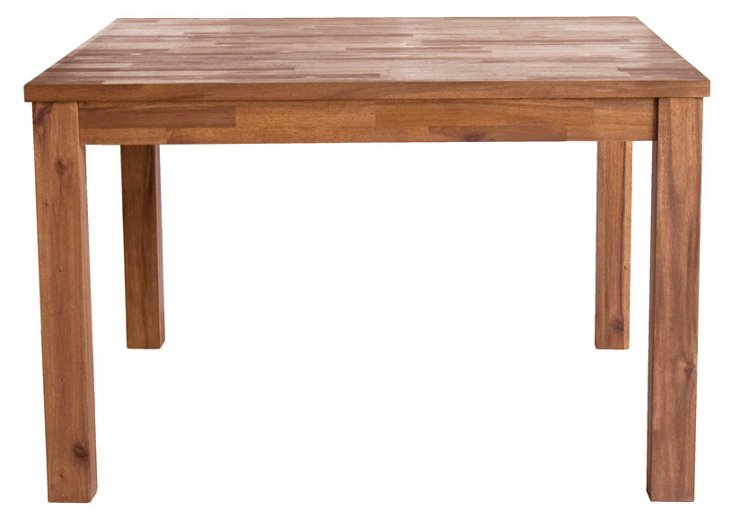 """Gus 47"""" Dining Table, Natural"""