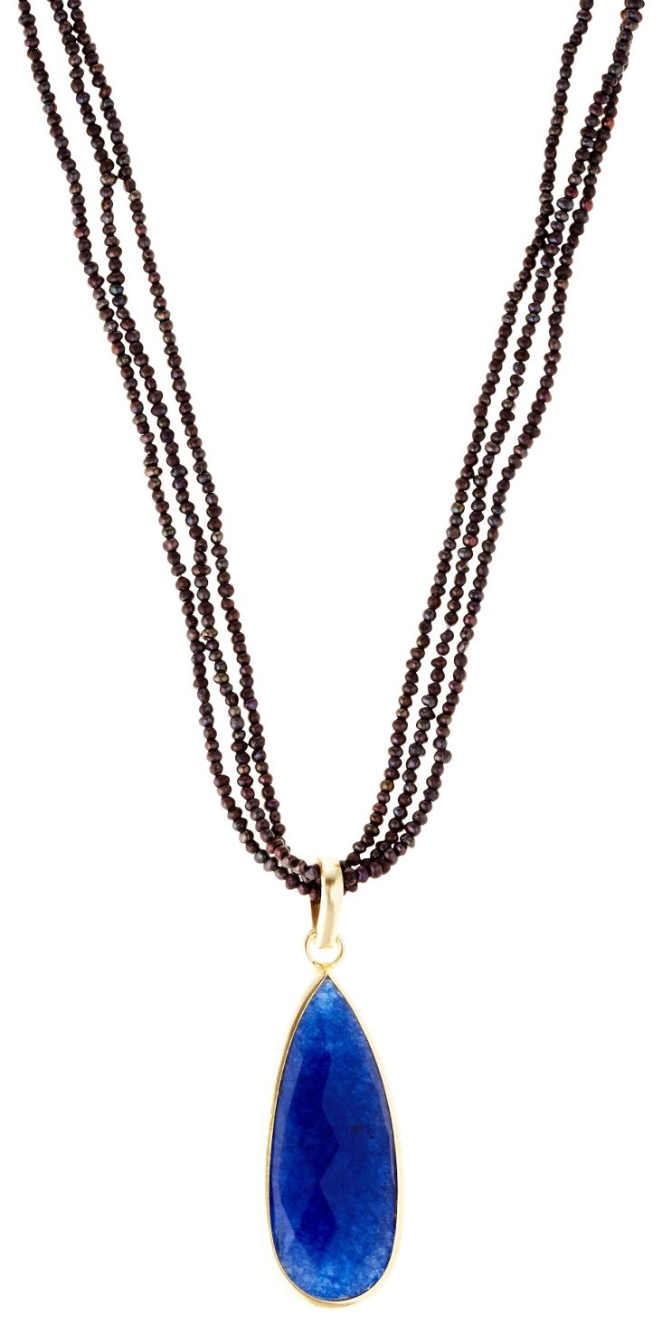 Timeless Indigo Necklace