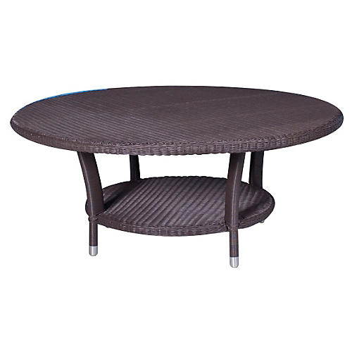 "Yacht Club 42""Dia Coffee Table, Wenge"
