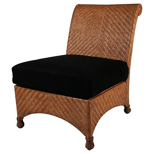 Slipper Chair, Natural