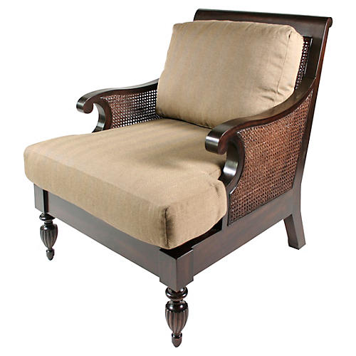 Traders Armchair, Sage