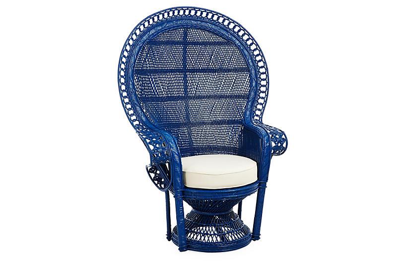 Peacock Chair, Navy