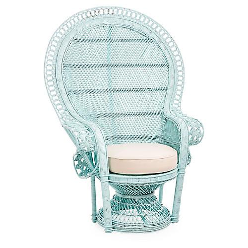 Peacock Chair, Mint