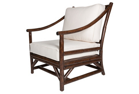 Woodland Lounge Chair, Espresso