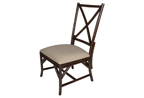 Woodland Side Chair, Espresso