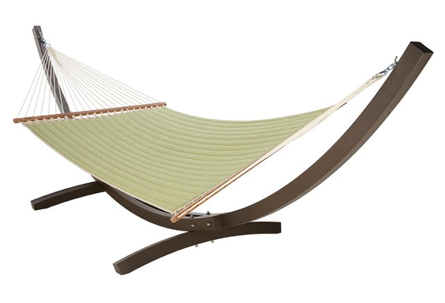 Quilted Hammock, Peridot (w/out Stand)