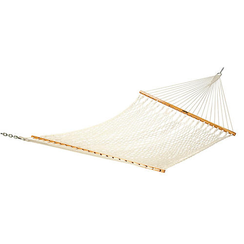 Kensie Rope Hammock, Cotton