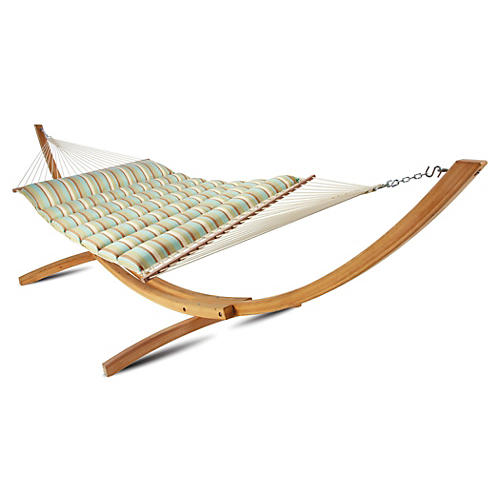 Lea Pillowtop Hammock, Multi Stripe