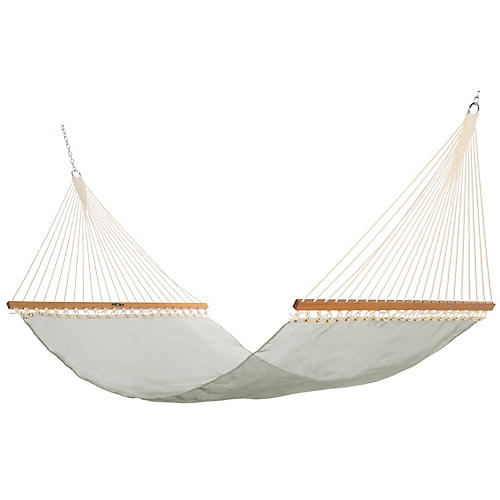 Pool-Side Hammock, Sea Glass Sunbrella