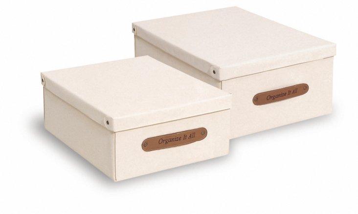 Large Canvas Storage Box