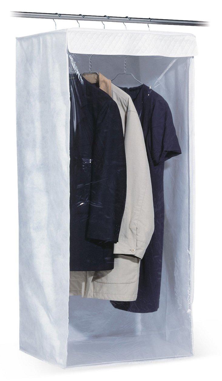 Jumbo Garment Bag, White