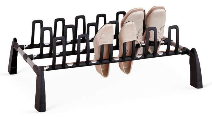 9-Pair Shoe Rack