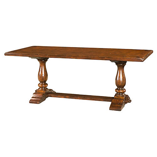 """Rustic Companion 78"""" Dining Table"""