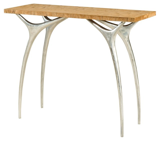"""Flying Buttress II 42"""" Console, Almond"""
