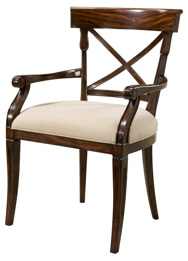 Brooksby Armchair, Ivory
