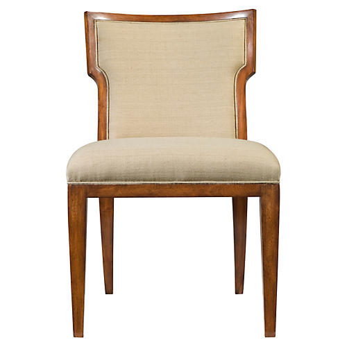Carrie Side Chair, Beige