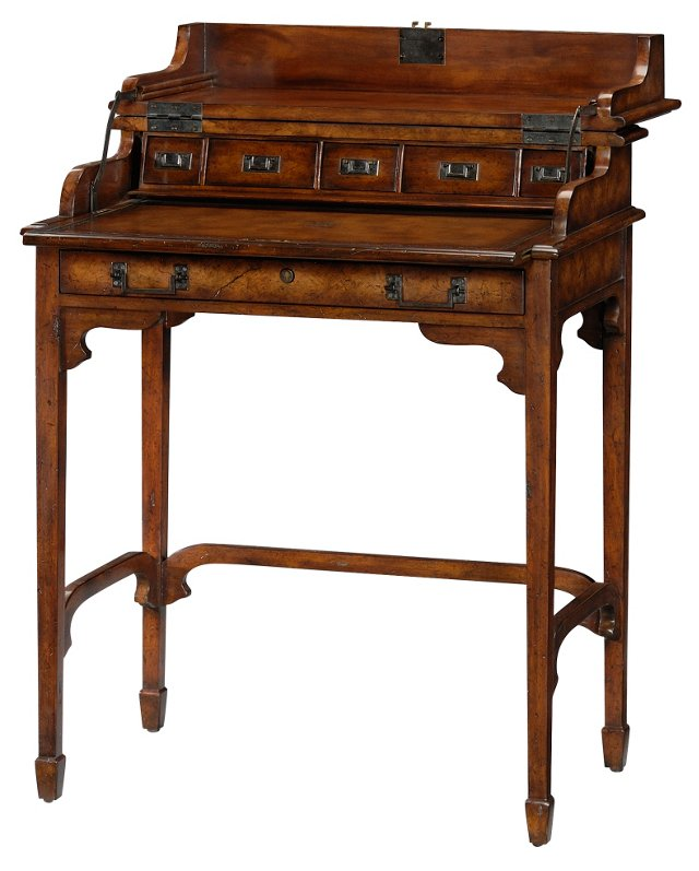 "Recollections 28"" Desk, Brown"