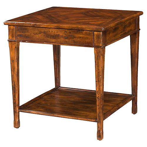 Castle Guest Nightstand, Brown