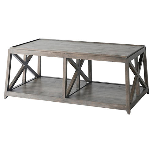 Laidley Coffee Table, Ash Gray