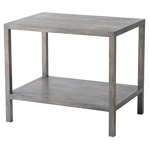 Jasper Side Table, Cocoa