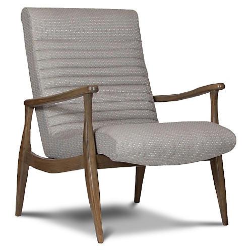 Erik Modern Armchair, Graphite