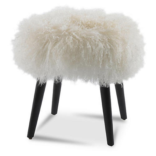 Wilson Ottoman, Mongolian Sheep's Wool