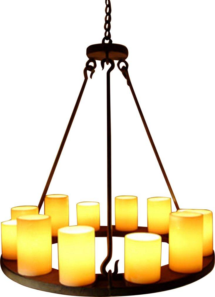 Mallorca Electrified Hollowed Candle